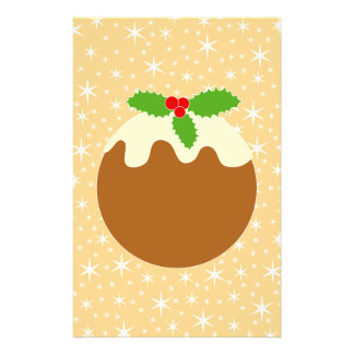 Pudding traditionnel de Noël Tract Personnalisé