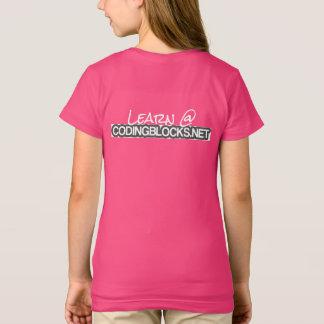 Puisque tout le besoin d'enfants codant des blocs t-shirt