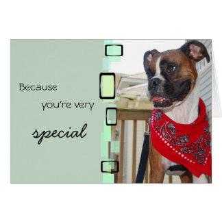 Puisque vous êtes très spéciaux cartes de vœux