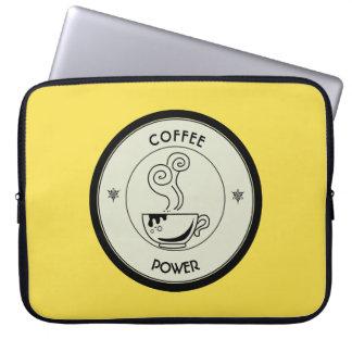 Puissance de café housses pour ordinateur portable