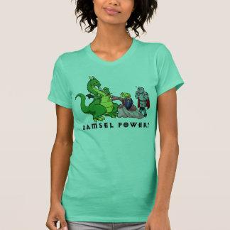 Puissance de demoiselle t-shirt