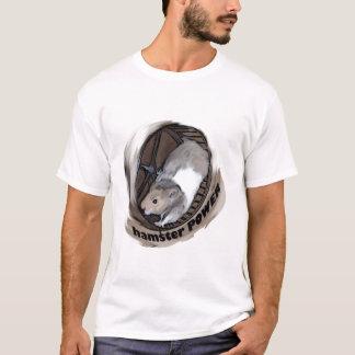 Puissance de hamster t-shirt