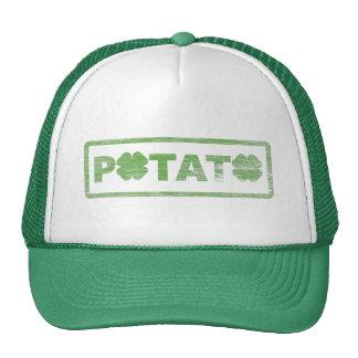 Puissance de pomme de terre casquettes