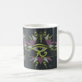 Puissance de pyramide mug