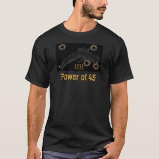 Puissance du colt 1911 de conception de T-shirt de