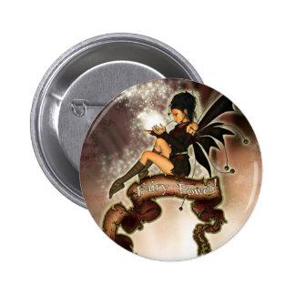 Puissance féerique ! badge rond 5 cm