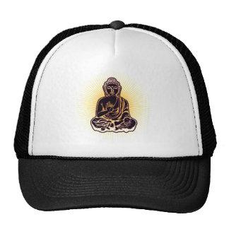 Puissance noire de Bouddha Casquettes De Camionneur