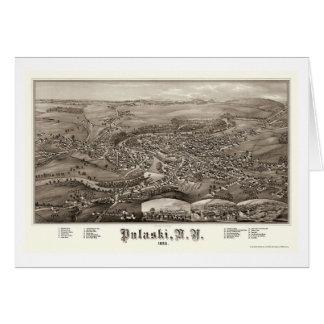 Pulaski, carte panoramique de NY - 1885
