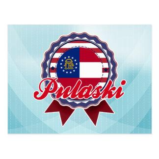 Pulaski, GA Carte Postale