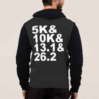 Pull À Capuche 5K&10K&13.1&26.2 (blanc)