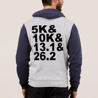 Pull À Capuche 5K&10K&13.1&26.2 (noir)