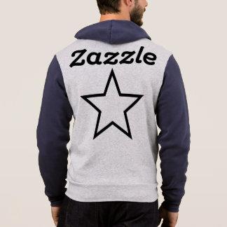 Pull À Capuche Bella des hommes de Zazzle+Sweat - shirt à capuche