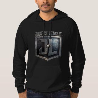 Pull À Capuche Bouclier métallique de la ligue de justice | JL