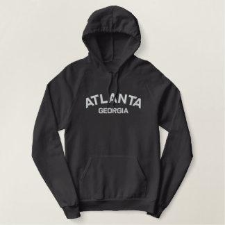 Pull À Capuche Brodé Chemise brodée par Géorgie d'Atlanta