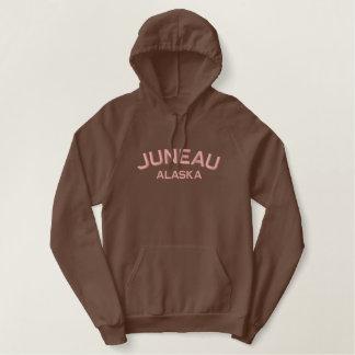 Pull À Capuche Brodé Chemise brodée parAlaska de Juneau