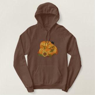 Pull À Capuche Brodé Générosité d'automne