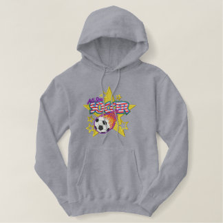Pull À Capuche Brodé Logo du football
