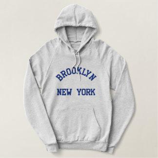 Pull À Capuche Brodé New York