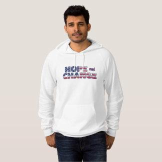 Pull À Capuche Chemise de drapeau américain d'espoir et de