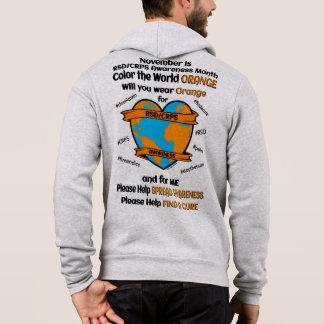 Pull À Capuche Colorez l'orange… RSD/CRPS du monde