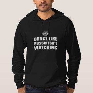 Pull À Capuche Danse comme la Russie n'observant pas