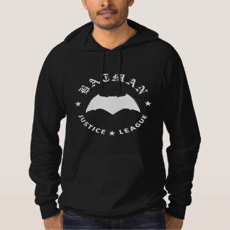 Pull À Capuche Emblème de batte de la ligue de justice rétro |