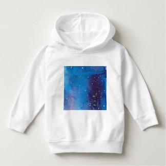 Pull À Capuche Galaxie bleu-foncé