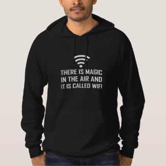 Pull À Capuche La magie dans le ciel est Wifi