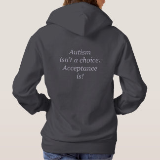 Pull À Capuche L'autisme n'est pas un choix