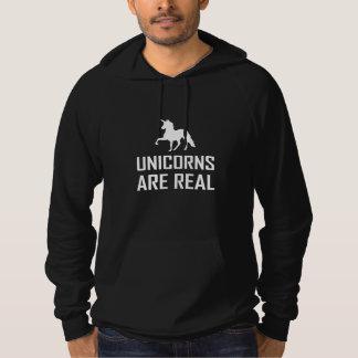 Pull À Capuche Les licornes sont vrai imaginaire