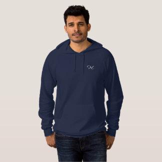 "Pull À Capuche Marine hoodie ""H"""