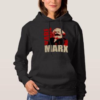 Pull À Capuche Portrait de Karl Marx - socialiste et communiste