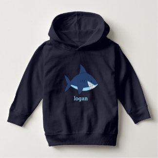 Pull À Capuche Requin bleu d'amusement