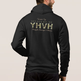 Pull À Capuche SOLDATS de chrétien de YHVH