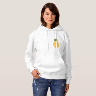 Pull À Capuche Sweatshirt. simple et mignon d'ananas