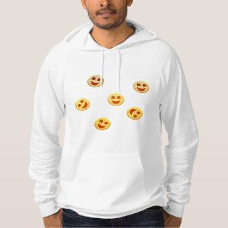 Pull À Capuche visages heureux de biscuits