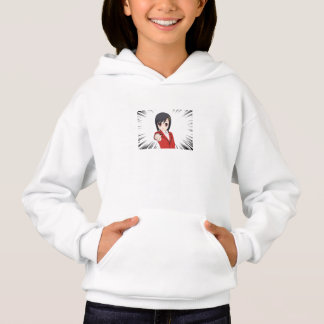 pull capuche fille