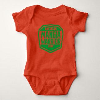 Pullover de bébé avec le logo de guerrier de