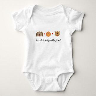 """Pullover de bébé """"de chat de poussin de chien"""""""