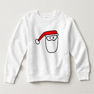 Pullover de sweatshirt d'enfants de Père Noël de
