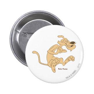 Puma de Peter excité Badge Rond 5 Cm