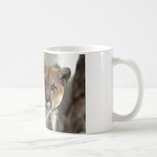Puma frappant une pose mug