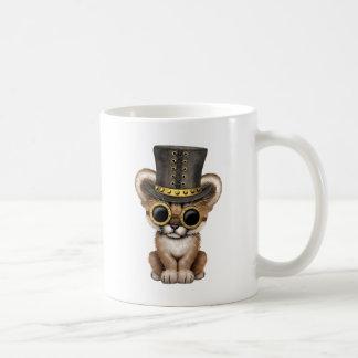 Puma mignon CUB de bébé de Steampunk Mug