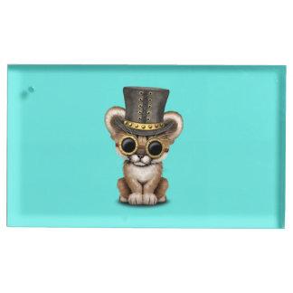 Puma mignon CUB de bébé de Steampunk Porte-cartes De Placement