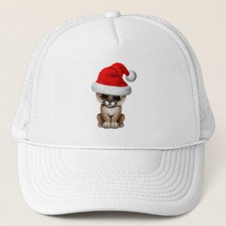 Puma mignon CUB utilisant un casquette de Père