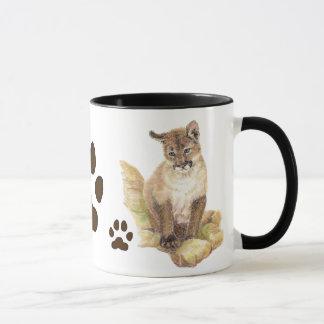 Puma, puma, voies animales de CUB de puma Mug