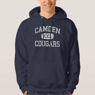 Pumas Kingsland moyen la Géorgie de Camden Pulls Avec Capuche