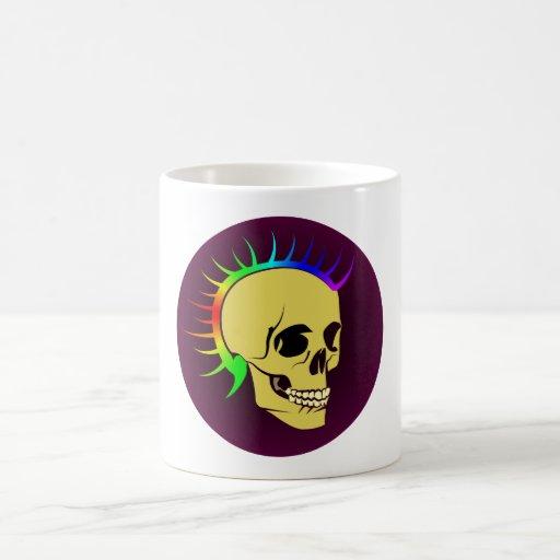 Punk crâne tête de mort skull tasses