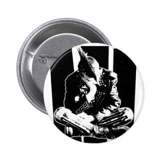 Punk GASPILLÉ Badge