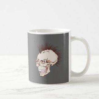 Punk tête de mort crâne skull tasse